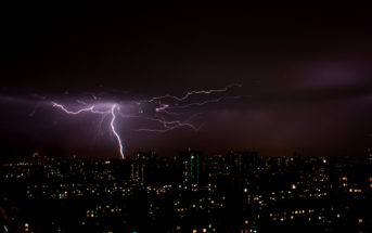 Lightning by Dmitry Kalinin