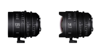 Sigma Cine Lenses 14mm 135mm t2 Lenses