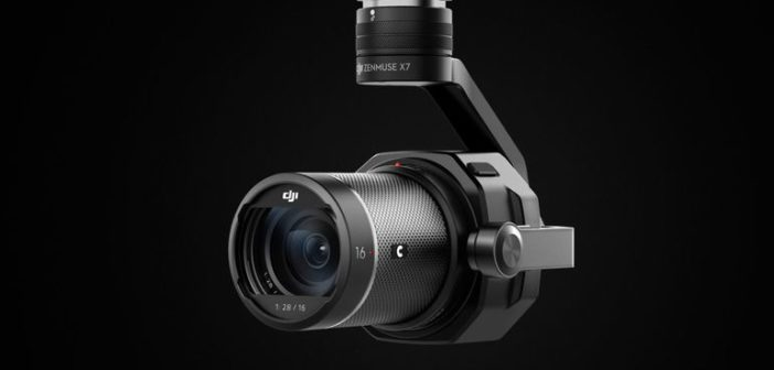 DJI Zenmuse X7 Super 35mm Aerial Camera with RAW Video Capture