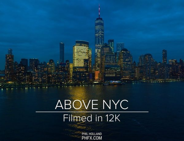 This Video shot 'Above NYC' Offers Gloriously Gorgeous Aerial Footage Filmed in 12K
